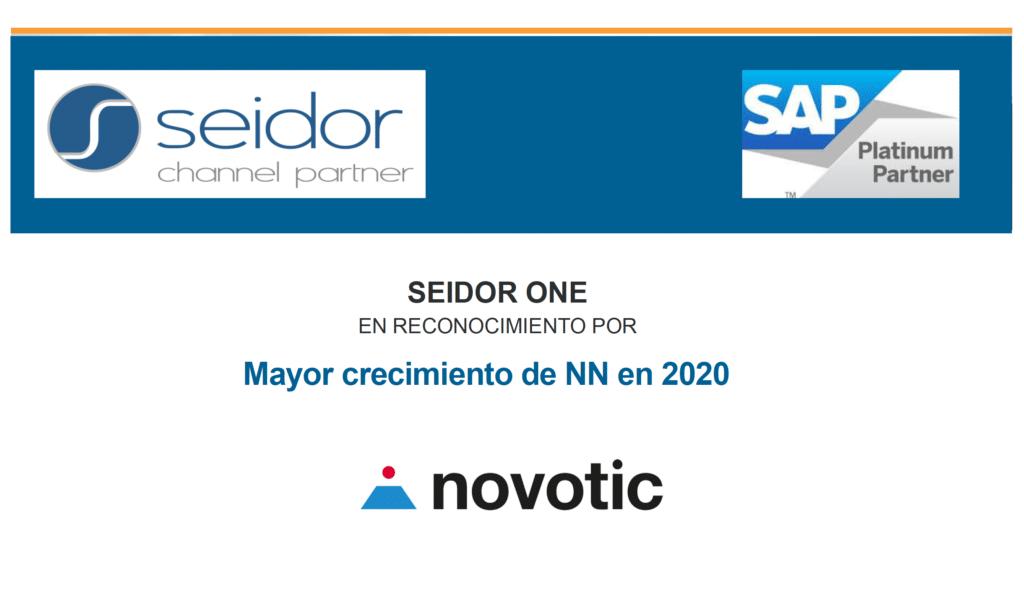 Novotic, premiada por su crecimiento exponencial 2